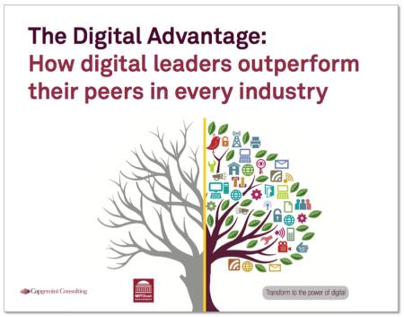 Digital Advantage digital leaders outperform pears Capgemini MIT finno