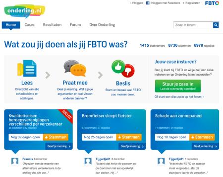 FBTO Onderling community uitspraken claims Finno