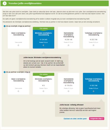 eyeopen online hypotheekadvies Keuze overlijdensrisico finno