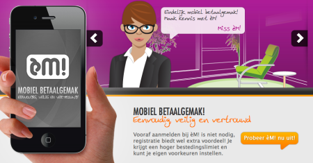 èM! Payment mobiel betalen online offline Finno