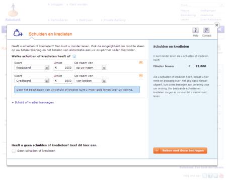 Rabobank Hypotheekdossier advies provisieverbod finno 2