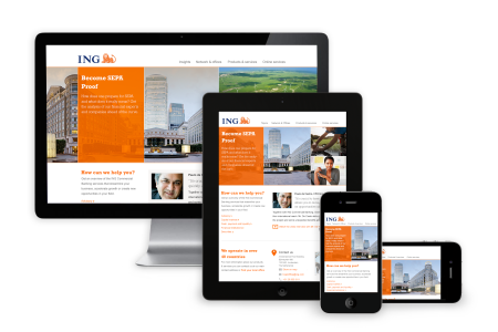 ING Commercial Banking responsive website content first finno