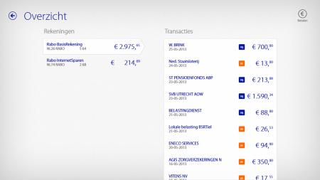 rabobank scherm bankieren app windows 8 finno1