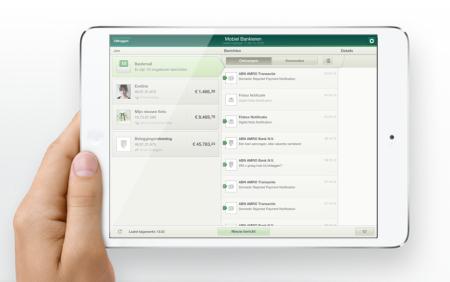 ABN AMRO bank mail klantcontact mobiel bankieren app finno