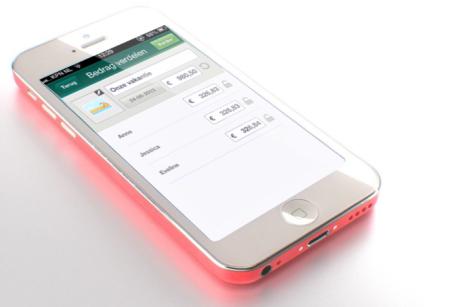 ABN AMRO Rekening Delen Mobiel Bankieren app Finno