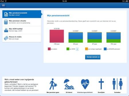 AEGON Pensioen app finno