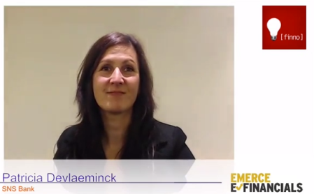 interview Patricia Devlaeminck SNS Emerce eFinancials 2013 finno