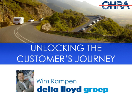 Unlocking the customer journey OHRA Delta Lloyd Groep Emerce efinancials finno