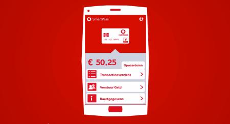 Vodafone Smartpass Visa V-pay mobiel betalen finno