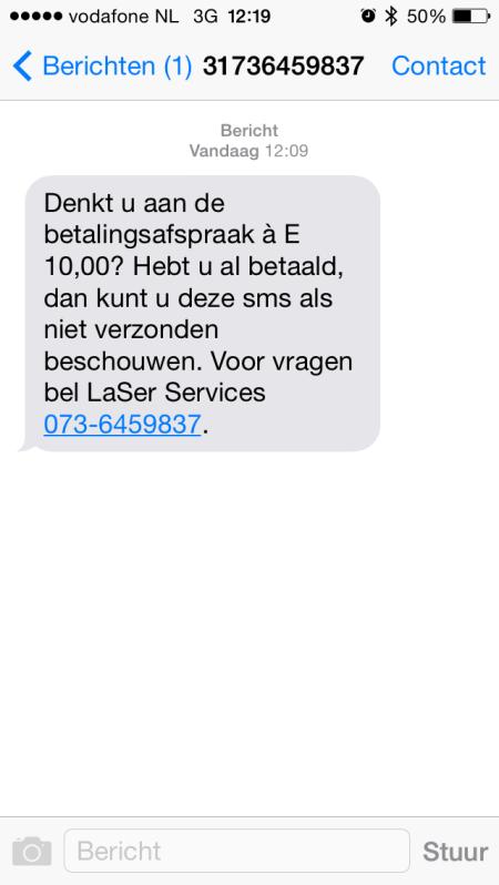 SMS Laser cards finno