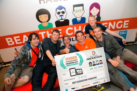 winnaars Dutch Fintech Hackathon Fritz next generation financing finno