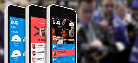 Get Bux beleggen mobile first app finno