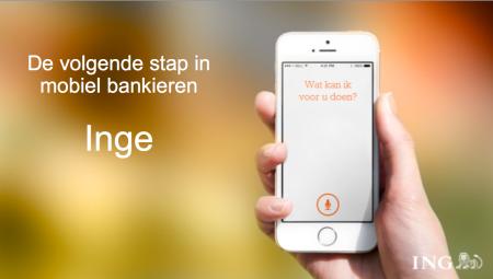 mobiel bankieren app ING Inge stembediening stemherkenning finno